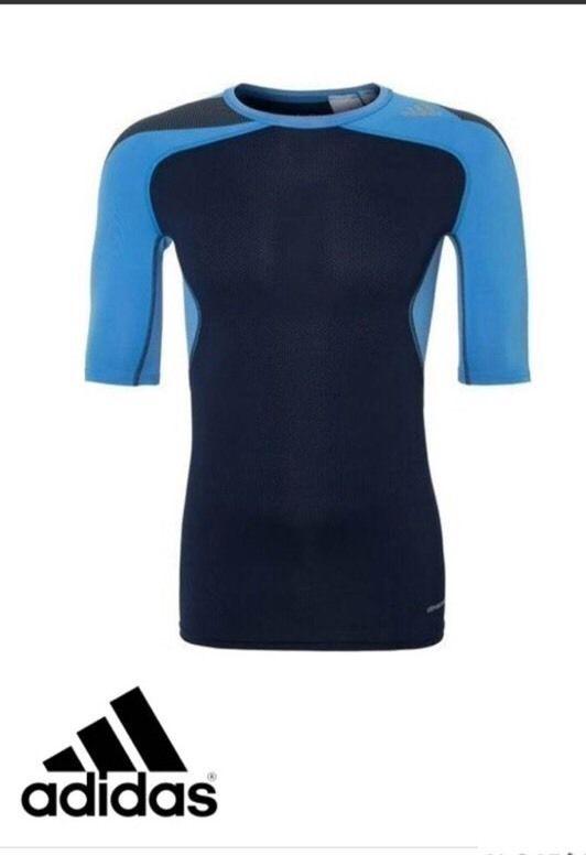 Medición Silenciosamente acoso  adidas Men's Climacool Techfit Compression T Shirt BNWT free ...