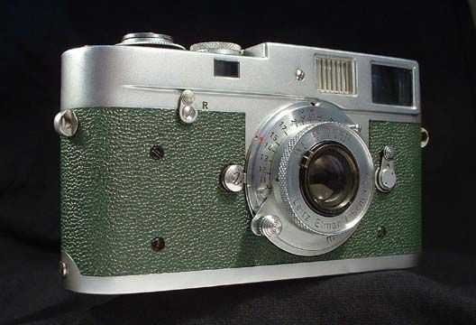 Leica M-Series With British Racing Green Pebbled Calkskin