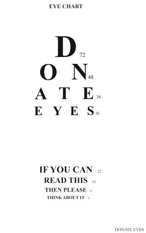 eye donation speech For secure one-time donation via credit card or paypal, click on the amount you wish to donate: for secure standing order donation via credit card or paypal, click on the amount you wish to donate: you can cancel your order anytime by clicking here.