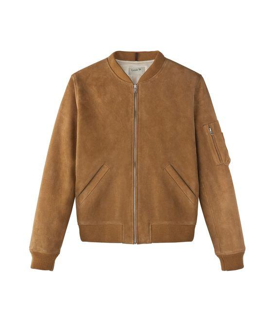 A.P.C. & Louis W Chelsea bomber jacket