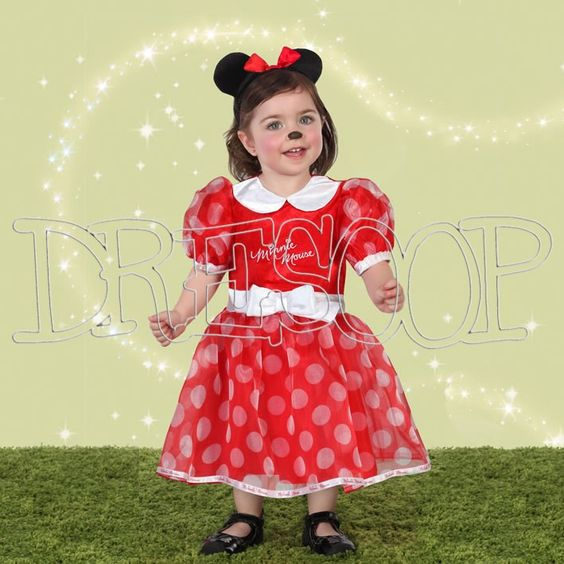 Costume Minnie Mouse per neonato - Dresoop.it