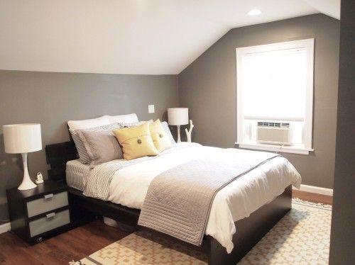 loving grey bedrooms lately
