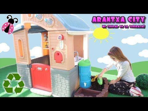 Mi Casa Ecológica En Arantxa City Los Juguetes De Arantxa Youtube Toy Chest Toys Decor
