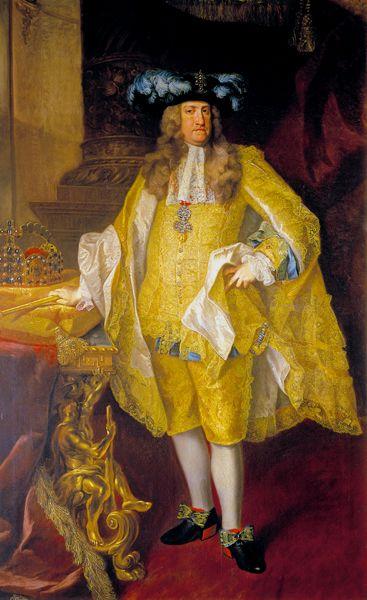 Charles VI,Holy Roman Emperor by Johann Gottfried Auerbach,1735: