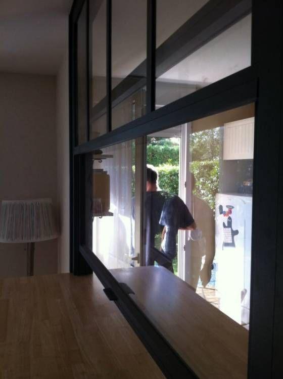 Awesome Verrière Passe Plat | Rénovation Maison | Pinterest | Restaurants, Kitchen  Breakfast Bars And Bar