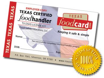 How To Get Your Food Handlers Card Texas