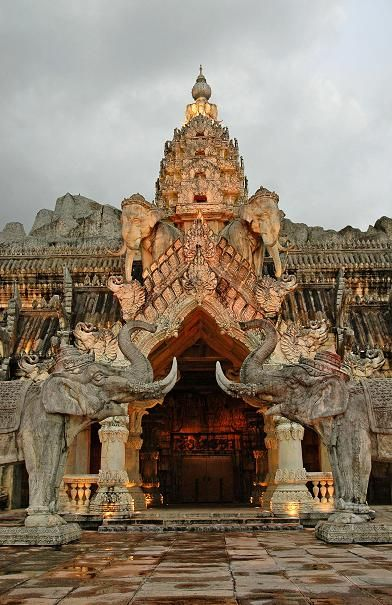 Elephant Theatre Palace in Phuket, Thailand