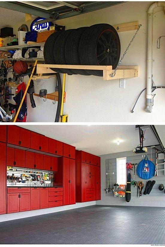 Storage Ideas For One Car Garage And Best Storage Ideas For Small Garage Tip 12 Car Garage Ideas Small Storage In 2020 Garage Storage Garage Room Small Garage