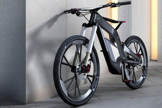Audi e-bike..Runs at 80kmph