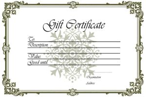 Make gift certificates with homemade gift certificate ideas make make gift certificates with homemade gift certificate ideas make your own gift certificates from scratch or by using free gift certificates printa yadclub Choice Image