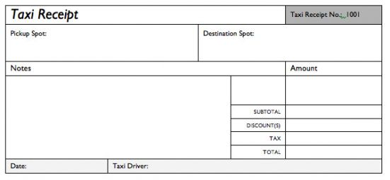 Browse Our Sample Of Taxi Service Invoice Template Receipt Template Invoice Template Taxi
