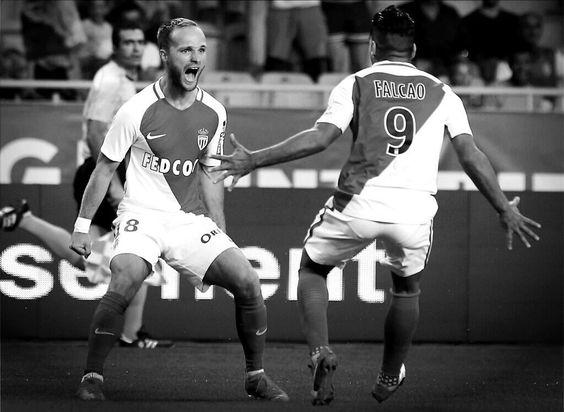 AS Monaco-Fenerbahçe 3-1 Barrages LDC 2016  Valère Germain   Radamel Falcao