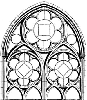 300 343 pixels stained glass and rose for Window design sketch