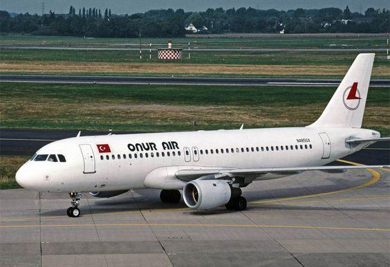 Airbus A320 Onur Air