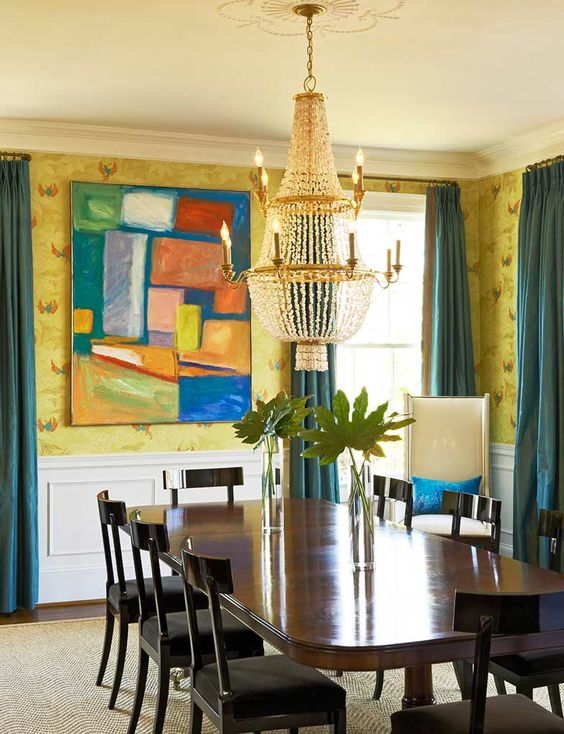 Queens Road The English Room Beautiful Dining Rooms Dining Design House Of Turquoise