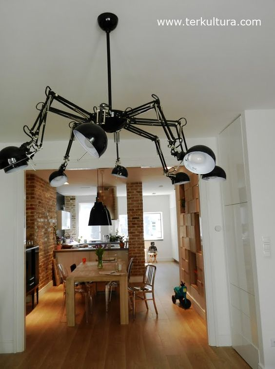 Spider lamp from FORSÅ