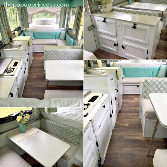 Amy Bell S Pop Up Camper Makeover Interior Interiors And