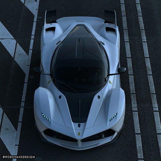 """Ferrari FXX | Partner Account: @luxuries_finest | | Photo: @robevansdesign |"""