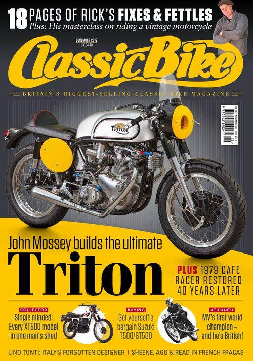Classic Bike Dec 2019 Bike Magazine Classic Bikes Practical