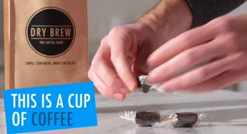 Chewable #Coffee: Dry Brew Coffee Chews