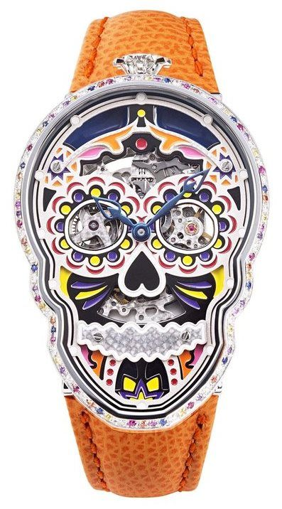 "Fiona Krüger Timepieces Petit Skull (Celebration) ""Eternity"""