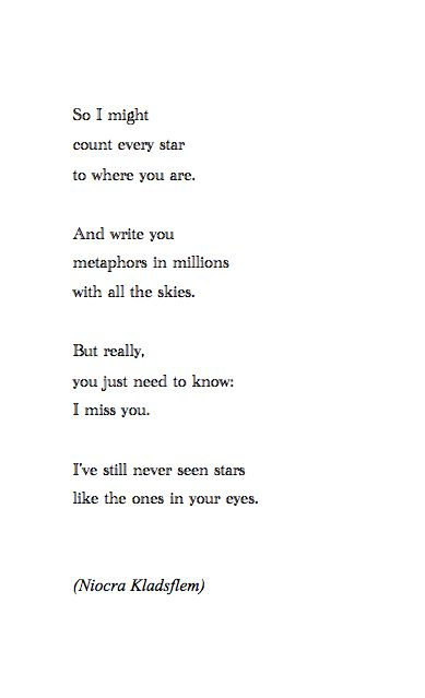 missing you poetry tumblr - Google Search