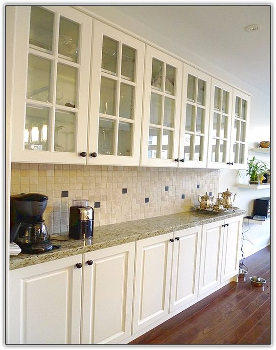 Shallow cabinets instead of buffet adds storage space counter space and provides lost Ikea narrow kitchen cabinet