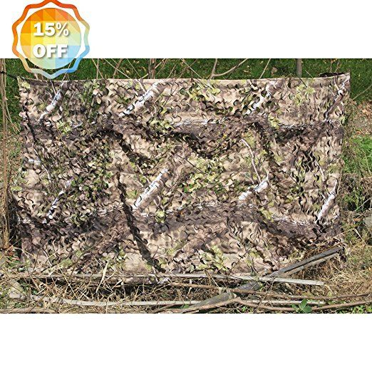 Auscamotek 300d Woodland Camouflage Hunting Camo Netting Blind Good For Camping Military Shooting Natural Blind 3 Woodland Camo Hunting Camouflage Hunting Camo