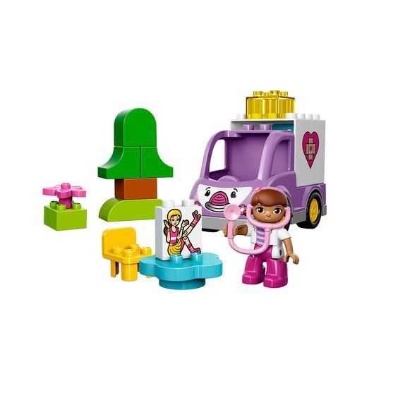 LEGO DUPLO Ambulanta Rosie a lui Doc McStuffins (10605), jucarii LEGO ieftine de Craciun  Vezi pe https://www.buyxpress.co/lego-duplo-ambulanta-rosie-a-lui-doc-mcstuffins-10605/