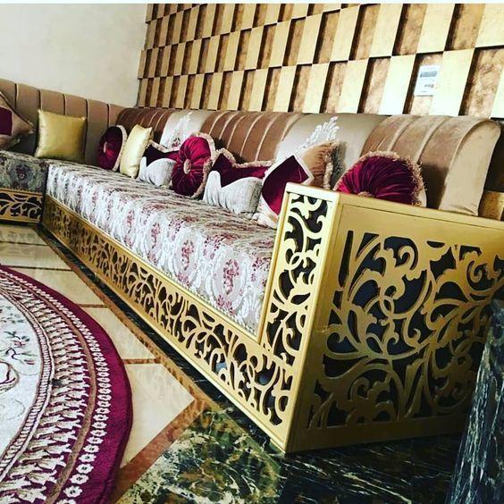 52 Mentions J Aime 1 Commentaires Salon Marocain Salon Marocain20 Sur Instagr Living Room Design Decor Luxury Furniture Design Ceiling Design Bedroom