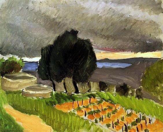 Landscape of the Midi - before the Storm Henri Matisse - circa 1921