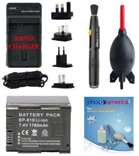 BP819 Battery Kit for Canon XA10, Vixia HF G10, HF M40, HF200, HF10, HF20, HF S21, HF M41, HF S100, HF S200, HF M400, HF100, HG20, HF S20, HF S30, HF S10, HF11, HG21, HF S11, M31, M300, M30, CG-800 - http://slrscameras.everythingreviews.net/9084/bp819-battery-kit-for-canon-xa10-vixia-hf-g10-hf-m40-hf200-hf10-hf20-hf-s21-hf-m41-hf-s100-hf-s200-hf-m400-hf100-hg20-hf-s20-hf-s30-hf-s10-hf11-hg21-hf-s11-m31-m300-m30-cg-800.html