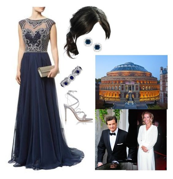 """""""*Royal Crossover* Attending the pre-wedding concert of Prince Henry of Wales and Miss Rebecca Huber"""" by princessofleinster ❤ liked on Polyvore featuring Firth, La Preciosa, Gianvito Rossi, women's clothing, women, female, woman, misses and juniors"""