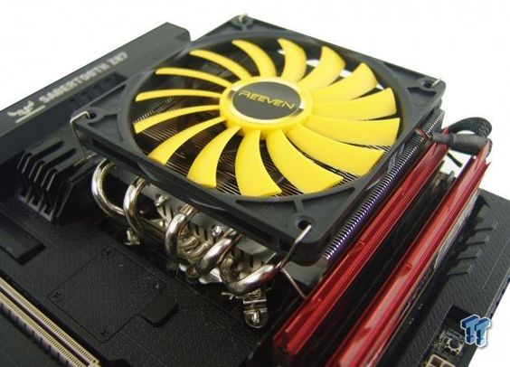 Reeven Steropes Rc 1206 Low Profile Cpu Cooler Review Cooler Reviews Low Profile Cooler