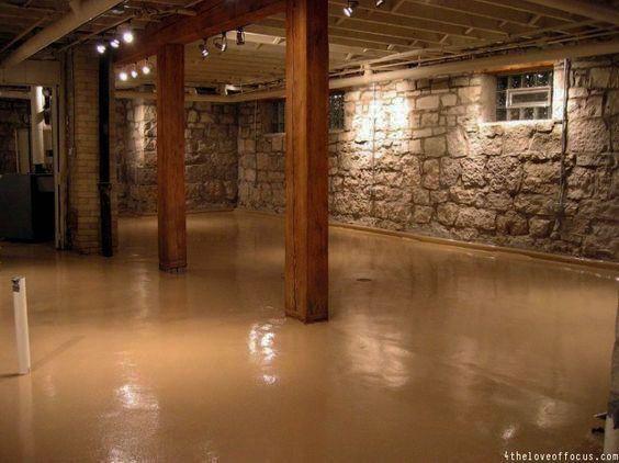 Waterproofing Basements Painted Concrete Floors Basement Concrete Floor Paint Concrete Basement Floors