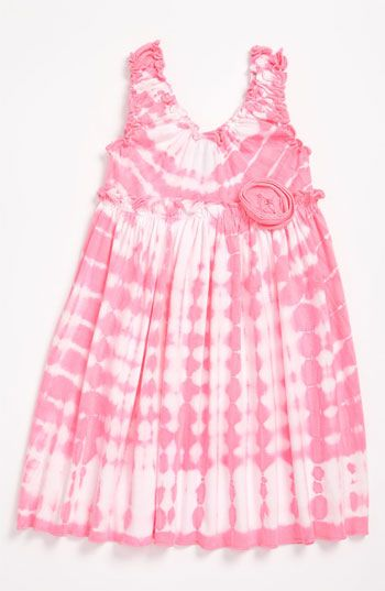 Mignone Tye Dye Babydoll Dress (Toddler) available at Nordstrom