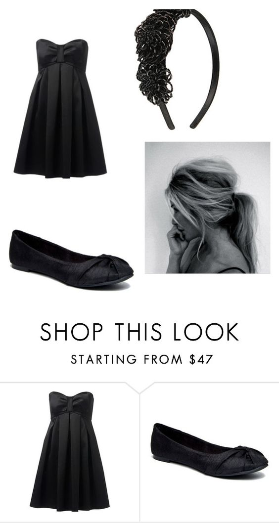"""funeral"" by snix14 ❤ liked on Polyvore featuring Forever New and Rocket Dog"