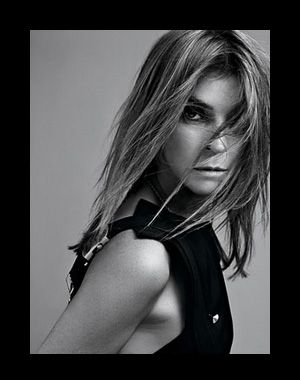 Carine Roitfeld Editor in Chief of CR Fashion-Book (as of 2012), was the editor-in-chief of Vogue Paris from 2001 to January 31, 2011