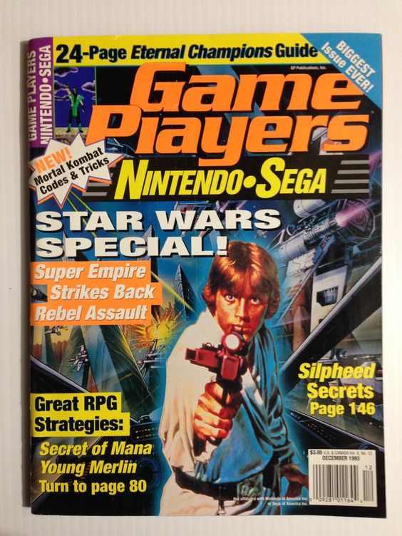 Game Players December 1993 #gaming #gamer #magazines