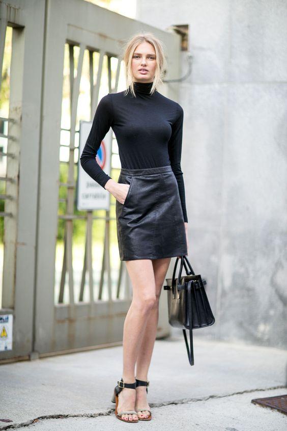Leather Skirts 2016 - Dress Ala