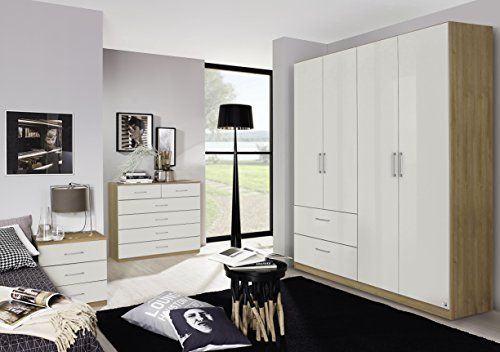 Germanica™ BONN Bedroom Furniture Set Including 4 Door Wa... Https:/