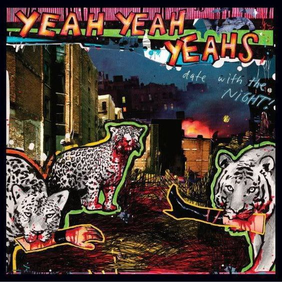 Yeah Yeah Yeahs – Date with the Night (single cover art)