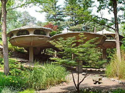 Mushroom house near Rochester  I love it