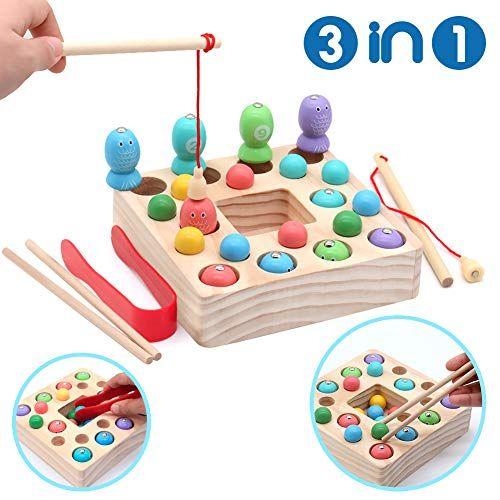 Symiu Holzspielzeug Angelspiel Montessori Lernspielzeug Magnettafel Kinderspielzeug Geschenk Ab Kinder Madchen J In 2020 Holzspielzeug Fur Kinder Angelspiele Spielzeug