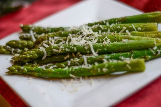Oven Roasted Asparagus | Flavor Mosaic | #sides #healthy