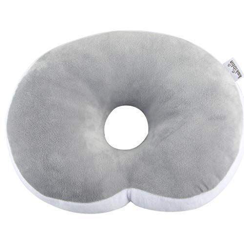 anti flat head baby pillow kakiblin
