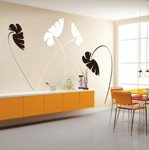 decorate any interior with these amazing removable vinyl wall decals designs available in over 40 colors different sizes