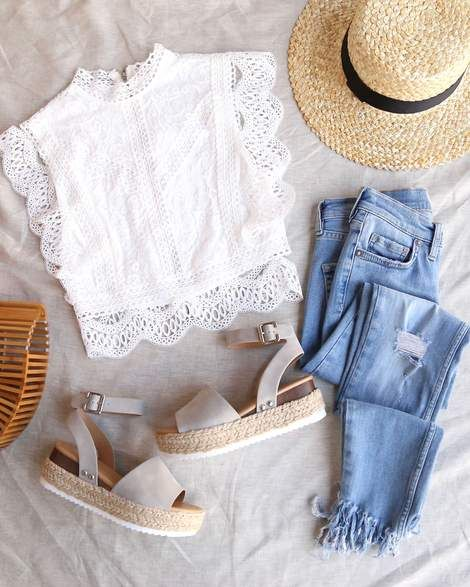 Paris Sleeveless Lace Crop Top in White