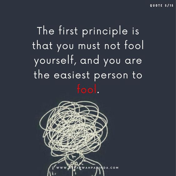 beparwah parinda The first principle is that you must not fool yourself, and you are the easiest person to fool.