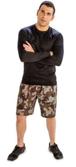 Camo Fitness Shorts for Men